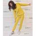 Женский спортивный костюм fantasy желтый